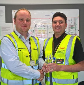 TONE Contractor of the Month at Gatwick Aiport