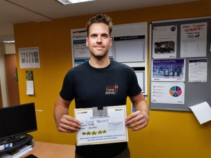July 2019 Monthly Safety Award for Joby Belsey